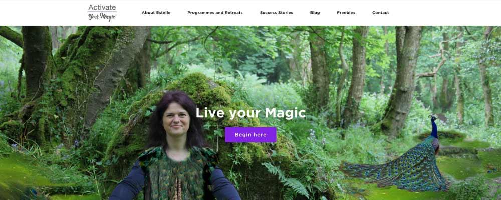 Activate your magic website