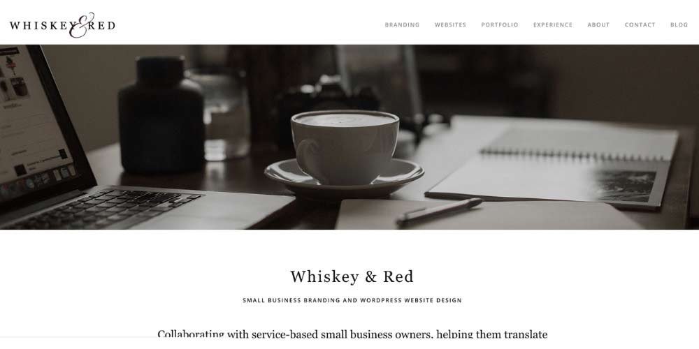 whiskey and red website