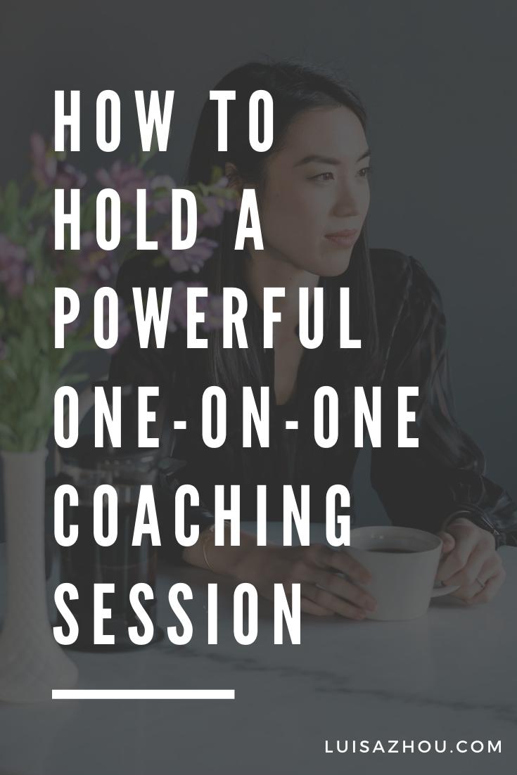 coaching session pin